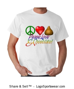 Peace, Love, and Chocolate Design Zoom